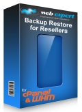 WE Backup Restore for cPanel/WHM Resellers